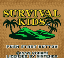 Survival Kids title screenshot