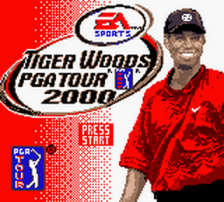 Tiger Woods PGA Tour 2000 title screenshot