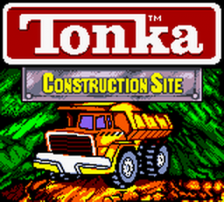 Tonka Construction Site title screenshot
