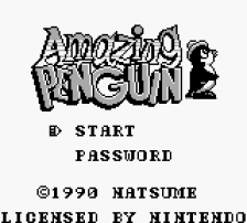 Amazing Penguin title screenshot