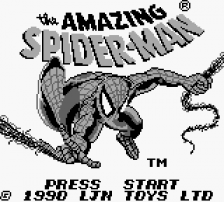 Amazing Spider-Man, The title screenshot