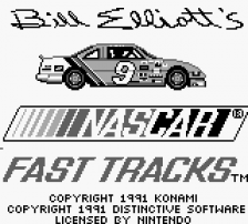 Bill Elliott's NASCAR Fast Tracks title screenshot
