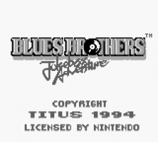 Blues Brothers, The - Jukebox Adventure title screenshot