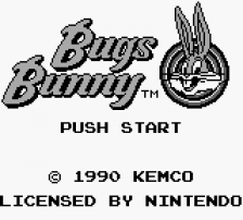 Bugs Bunny Crazy Castle, The title screenshot