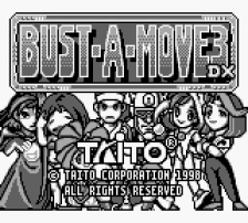 Bust-A-Move 3 DX title screenshot