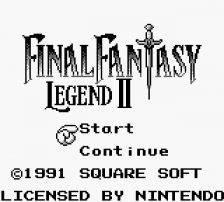 Final Fantasy Legend II title screenshot