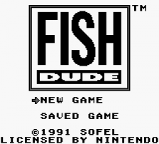 Fish Dude title screenshot