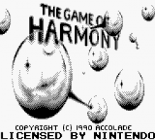 Game of Harmony, The title screenshot