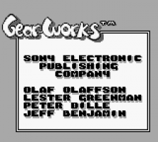 Gear Works title screenshot