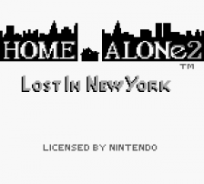 Home Alone 2 - Lost In New York title screenshot