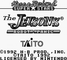 Jetsons, The - Robot Panic title screenshot