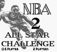 NBA All Star Challenge 2 title screenshot