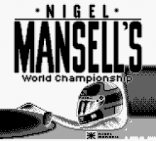 Nigel Mansell's World Championship title screenshot