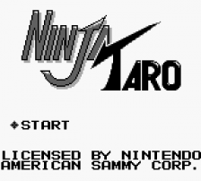 Ninja Taro title screenshot