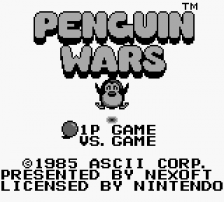 Penguin Wars title screenshot