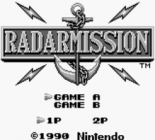 Radar Mission title screenshot