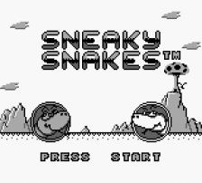 Sneaky Snakes title screenshot