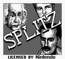 Splitz title screenshot