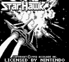 Star Hawk title screenshot
