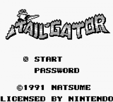 Tail 'Gator title screenshot