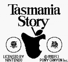 Tasmania Story title screenshot