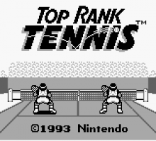 Top Rank Tennis title screenshot