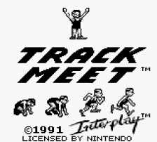 Track Meet title screenshot