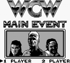 WCW Main Event title screenshot