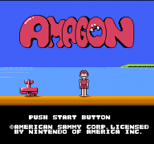 Amagon title screenshot
