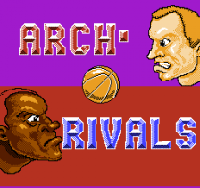 Arch Rivals - A Basketbrawl ! title screenshot
