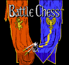 Battle Chess title screenshot
