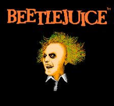 Beetlejuice title screenshot