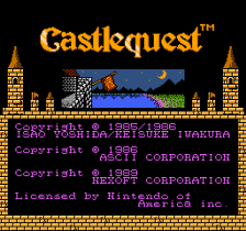 Castlequest title screenshot