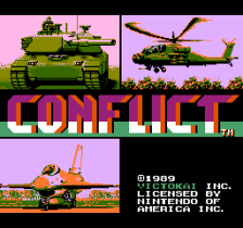 Conflict title screenshot