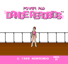 Dance Aerobics title screenshot