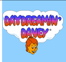 Day Dreamin' Davey title screenshot