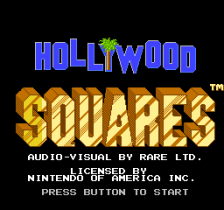 Hollywood Squares title screenshot
