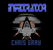 Infiltrator title screenshot