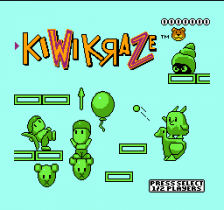 Kiwi Kraze - A Bird-Brained Adventure! title screenshot