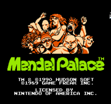 Mendel Palace title screenshot