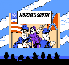 North and South title screenshot