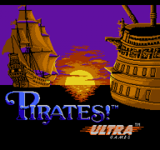 Pirates! title screenshot