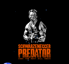 Predator title screenshot