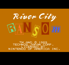 River City Ransom title screenshot