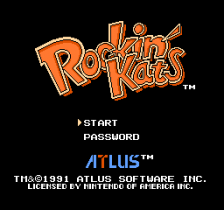 Rockin' Kats title screenshot