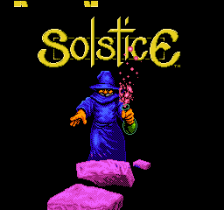 Solstice - The Quest for the Staff of Demnos title screenshot