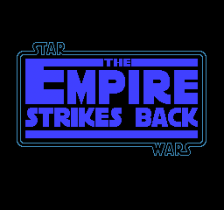 Star Wars - The Empire Strikes Back title screenshot