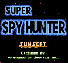 Super Spy Hunter title screenshot