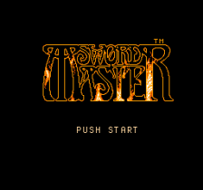 Sword Master title screenshot