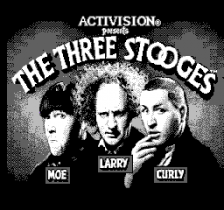 Three Stooges, The title screenshot